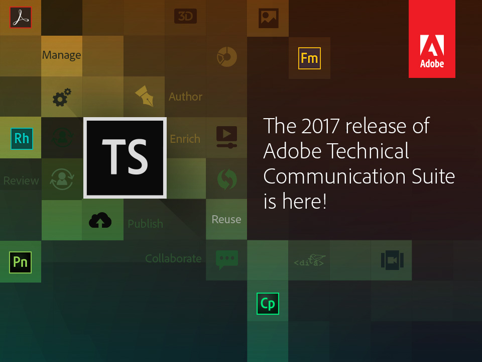 Adobe Technical Communication Suite 2017